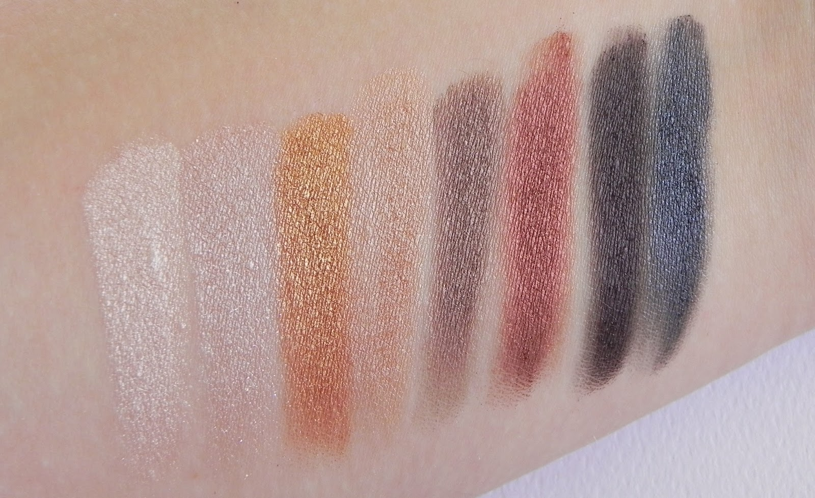 lorac pro makeup palette eyeshadow eyeshadows review swatches beauty shimmery