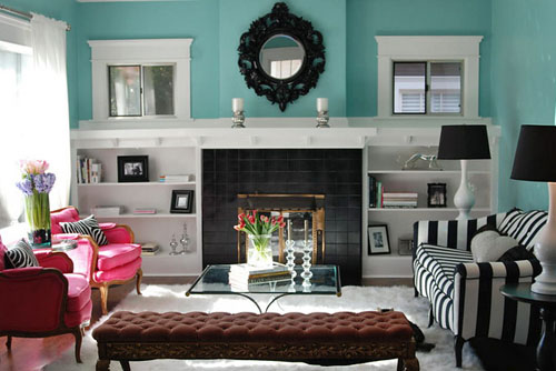 Home Decorating Ideas with Turquoise