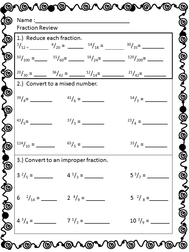 Simplifying Fractions Worksheet 4Th Grade – Fractions 5th Grade Worksheets