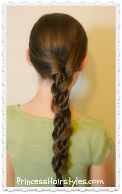 Quick and easy mosaic twist braid tutorial