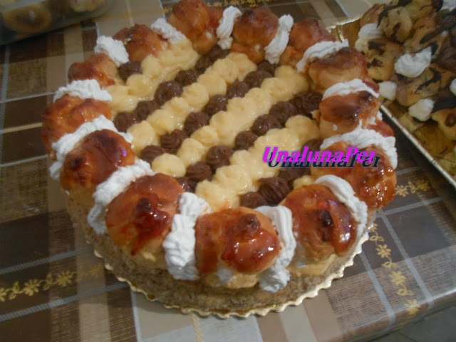Torta Saint Honorè Di Luca Montersino