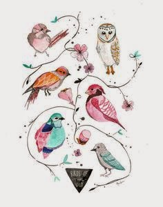 No busques en nidos de antaño, pájaros volando.