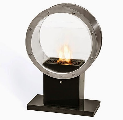 eco friendly portable fireplaces models