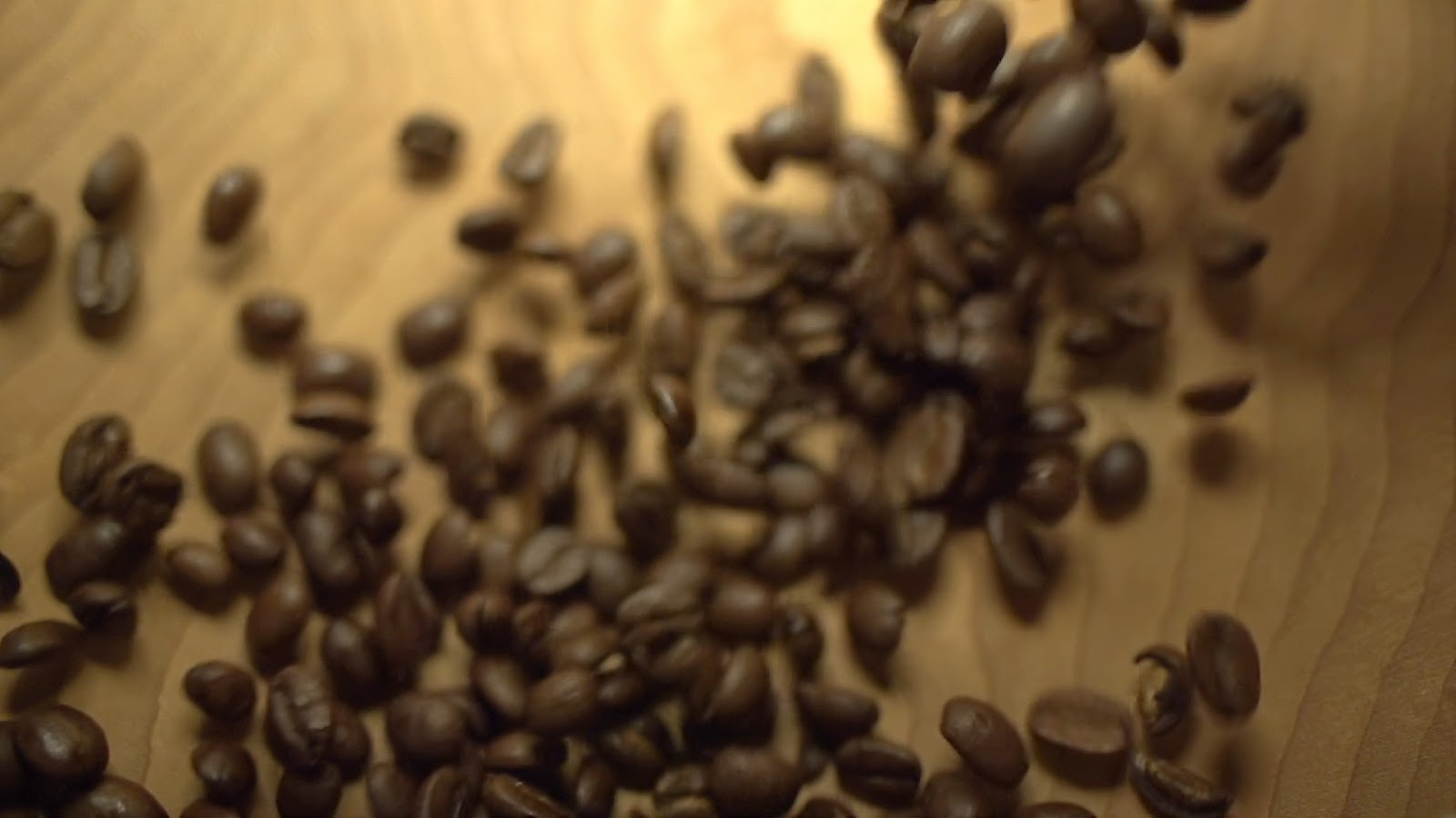Coffee Beans Faster Fall