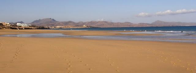 Playas nudistas de Jandia (Fuertevnetura, Islas Canarias, España)