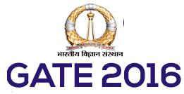 GATE 2016 logo