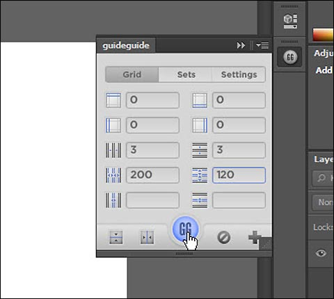 guideguide free Photoshop plugin to create guides