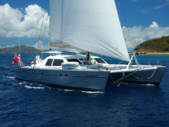 Marmot yacht charter