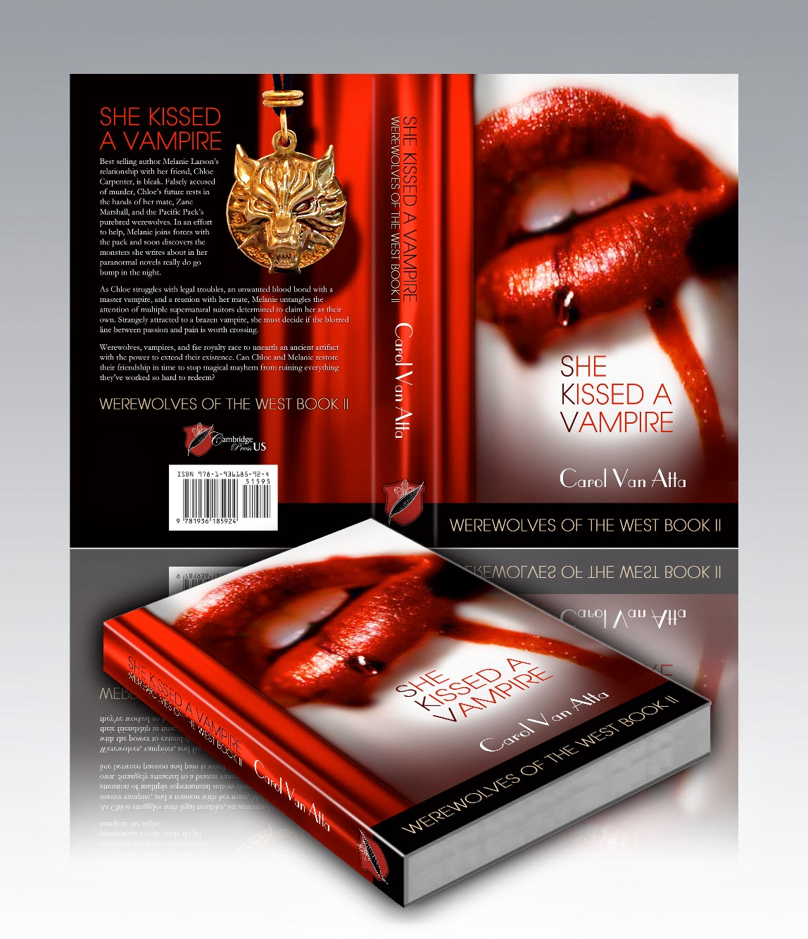 Book Two: She Kissed a Vampire