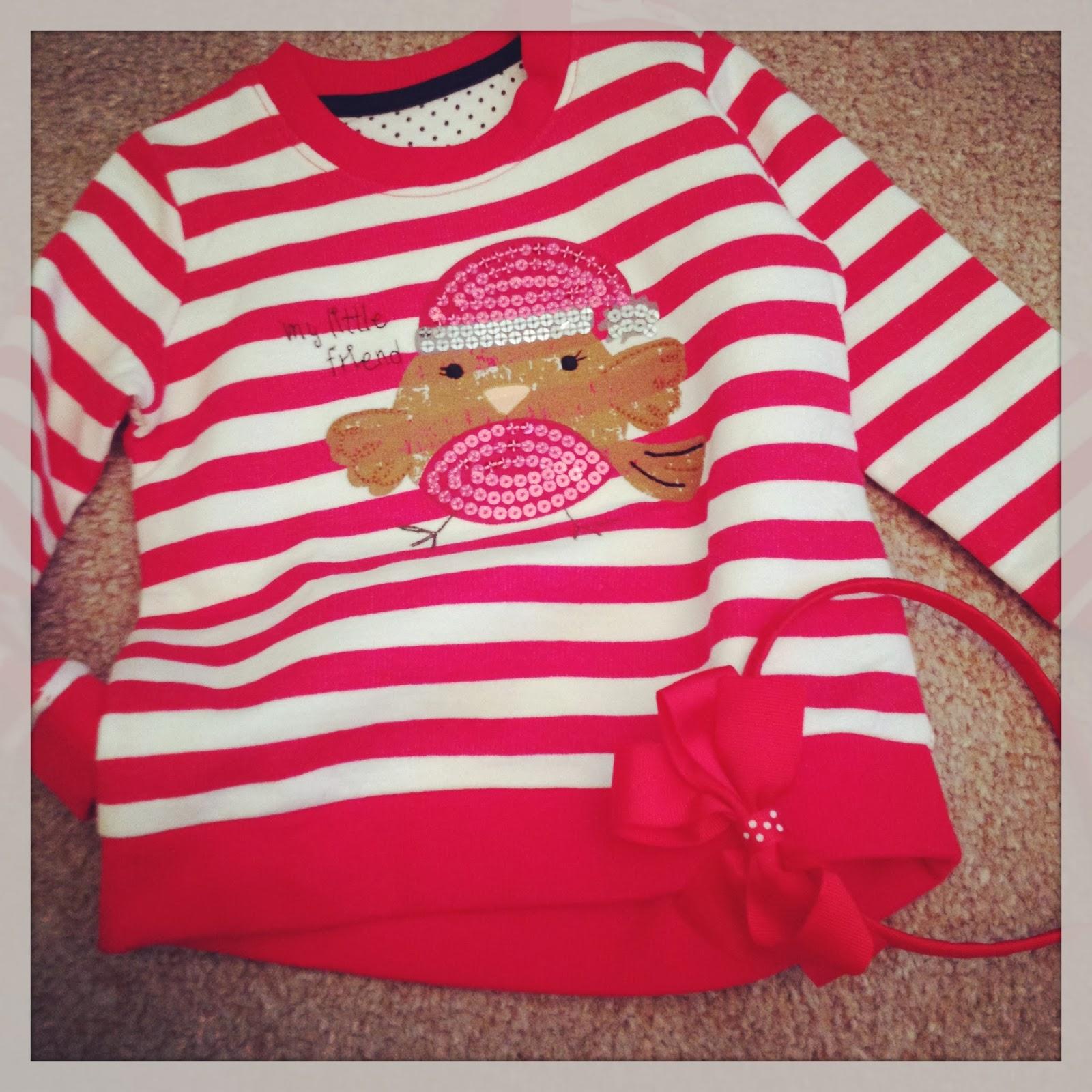 mamasVIB   V. I. BUY: Last minute Christmas buy… from Matalan!, V. I. BABY   Last minute buys   stripe jumper   christmas jumper   kids fashion   mamasVIB