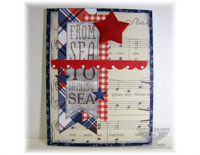 Crafty Colonel Donna Nuce, Patriotic Card
