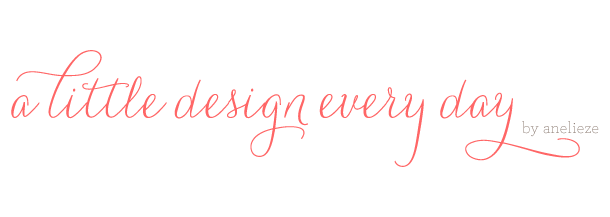 A Little Design Every Day | by Anelieze Castrejon