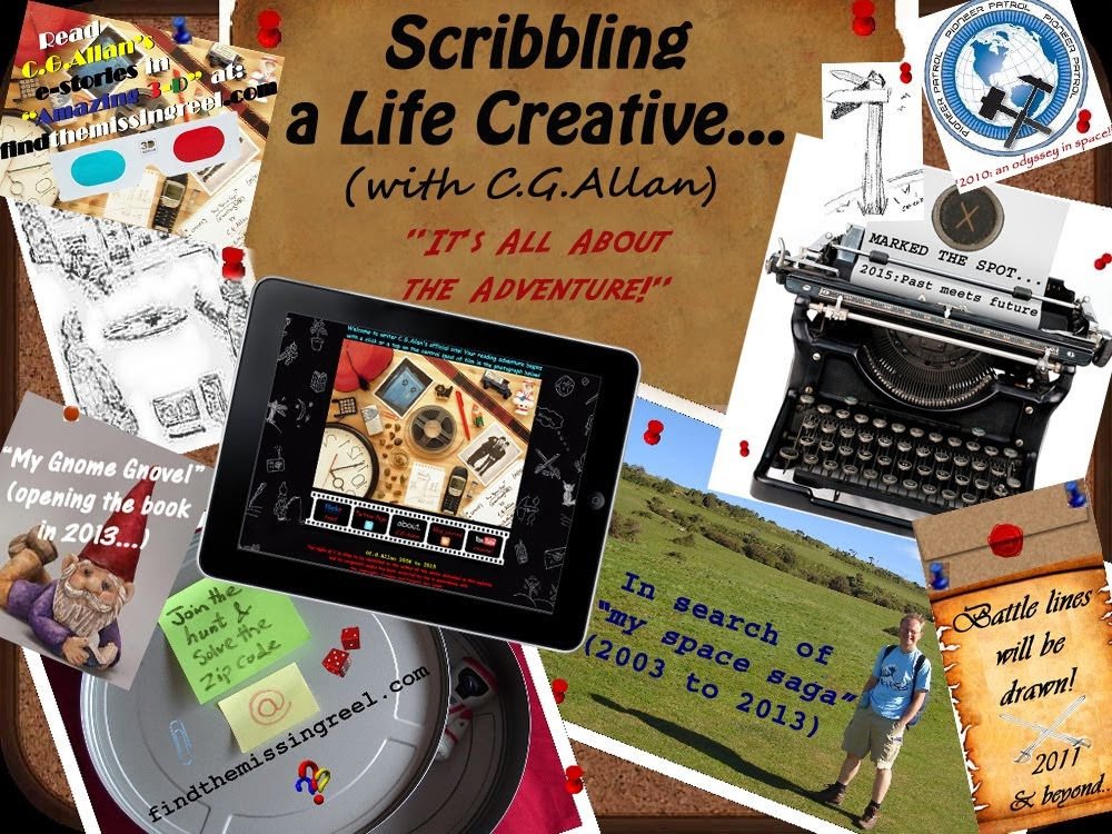 Scribbling a Life Creative (with C.G.Allan)