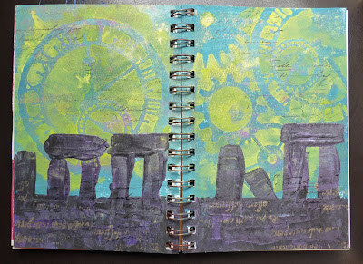 Whoopidooings (Carmen Wing)  Summer Solstice Remembrance Art Journal