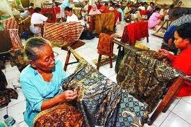 pembuatan batik asli Indonesia