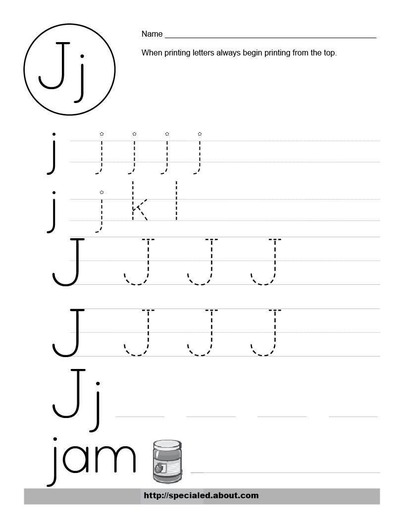 Worksheet Learning The Letter J have fun learning english the letter j you can download following worksheets for more fun