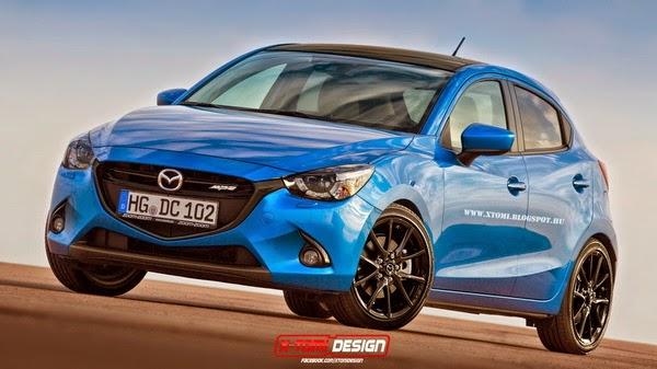 X Tomi เปิดตัวภาพชุดแต่งของรถแบบ 2016 Mazda2 Mps ออกมา