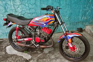 contoh modifikasi motor rx king 1997
