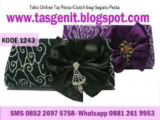 tas pesta, tas pesta batik, clutch bag batik, dompet batik