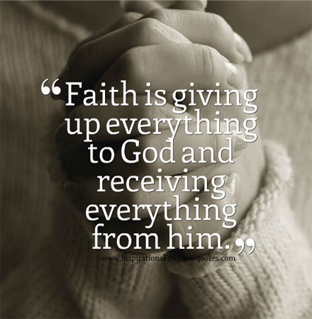 inspirational quotes about having faith quotesgram