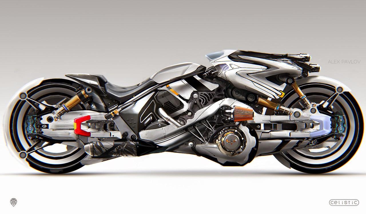 Mercenary garage moto flaer for Garage custom moto