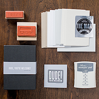 Stampin' Up! Dude, You're Welcome! Kit