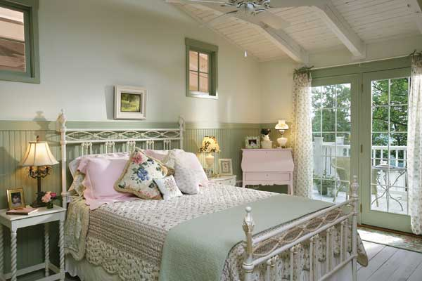 Shabby Chic Country Bedroom Decorating Ideas