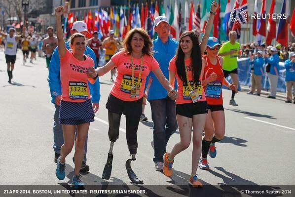 Maratón de Boston un año después del atentado