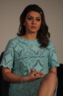 Actress Hansika Motwani Latest Pictures in Short Dress at Romeo Juliet Press Meet   (28).jpg