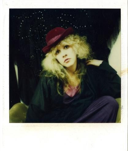 Stevie Nicks Selfies, 1970s || Polaroid || Allegory of Vanity