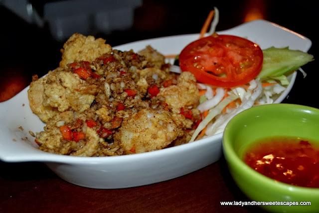 Chimes' Salt and Pepper Prawns