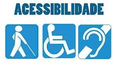 Acesso para idosos, deficientes físicos e auditivos