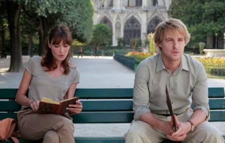 Pariste Gece Yarısı filmi , Woody Ellen filmi, Owen Wilson ve Carla Biruni sahnesi, Gil ve rehber Carla Biruni sahnesi