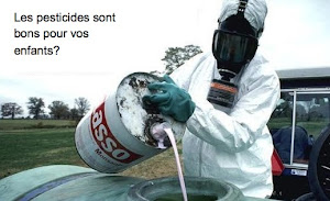 Les pesticides sont bon pour vos enfants?