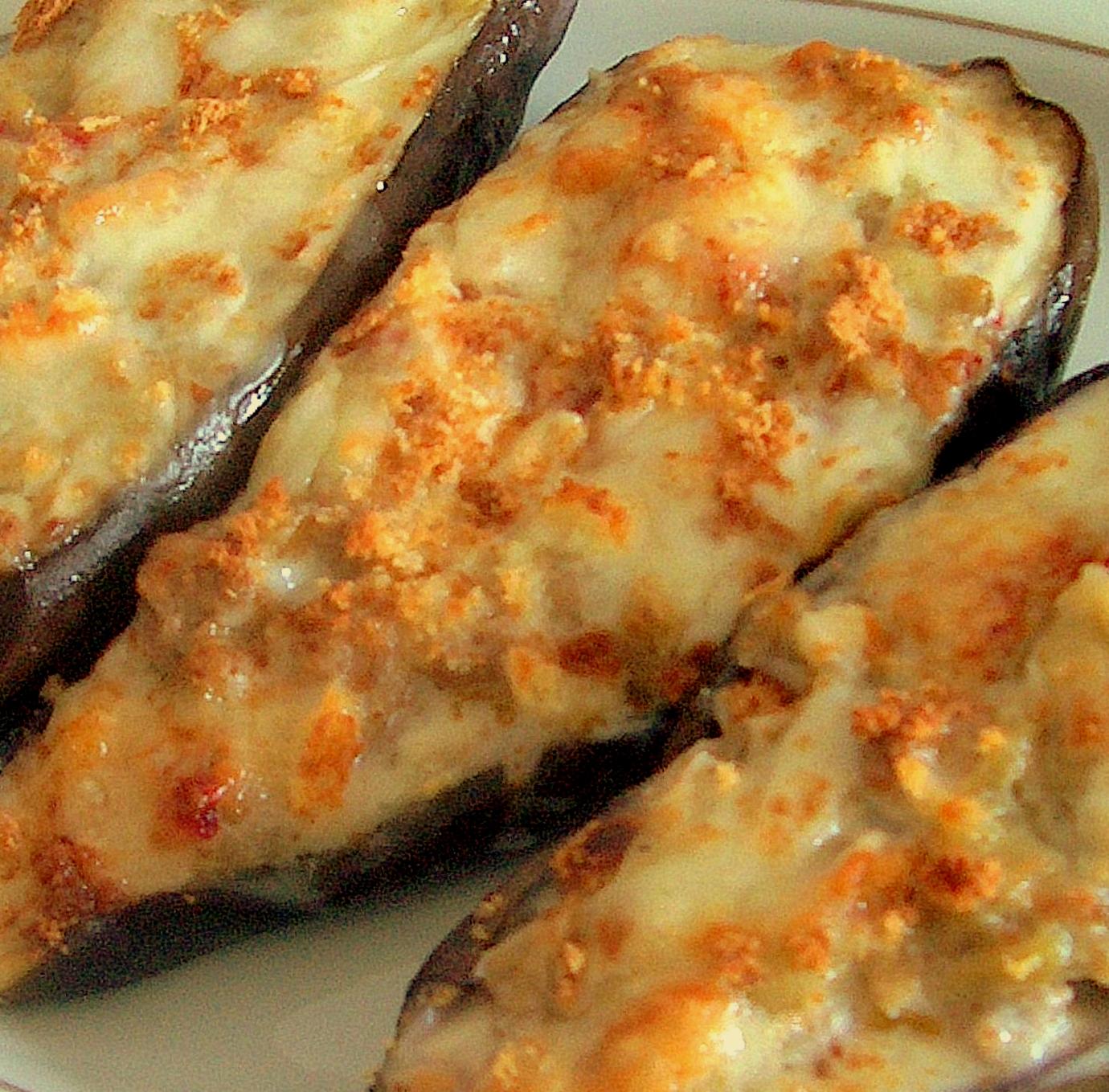 La cocina de gele berenjenas rellenas de carne for Cocina berenjenas rellenas