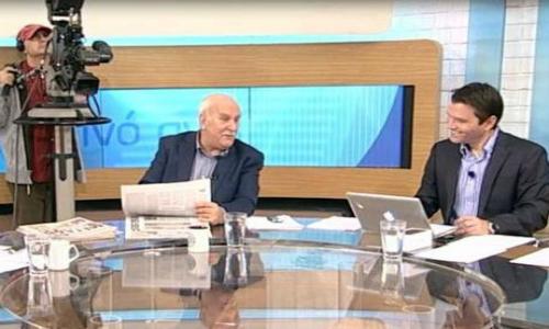 Ο συνεργάτης του Γιώργου Παπαδάκη Ντίνος Σιομόπουλος δεν κοιμάται μόνος [photo]
