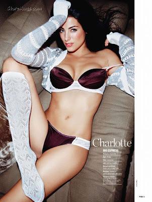 harry potter hucu hucu sexy charlotte lingerie fhm cover girl photos march 2011. Black Bedroom Furniture Sets. Home Design Ideas