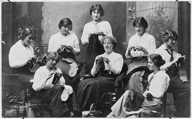 Knitting Jobs Nz : Women on the home front european new zealand