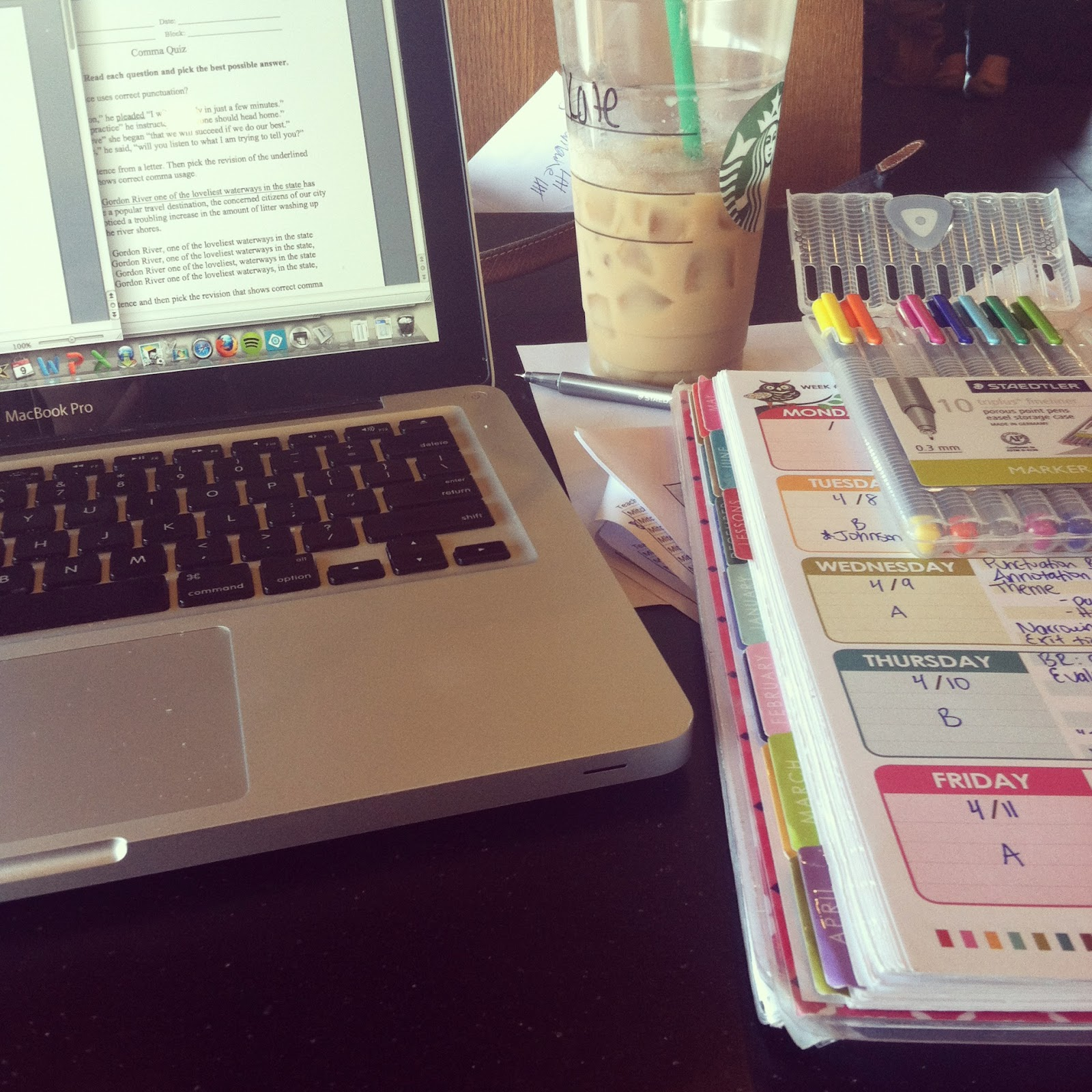 Erin Condren Starbucks