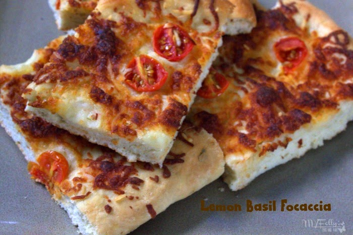 Lemon Basil Focaccia - Crazy Ingredient Challenge / This and That #CIC