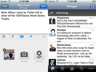 Twitter for iPhone and iPad updated with Local trends, and more