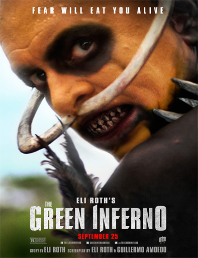 Ver Caníbales (The Green Inferno) (2014) Online