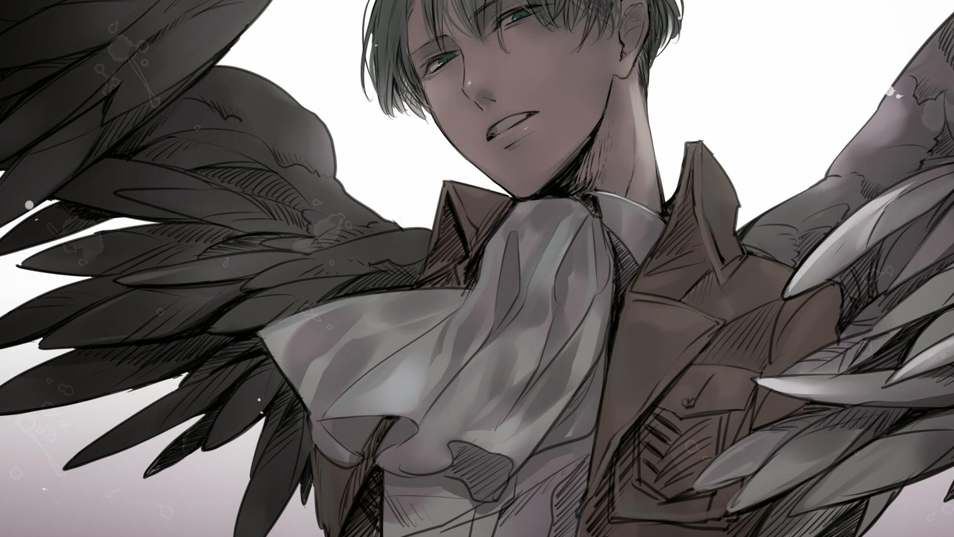 levi rivaille ttack on titan shingeki no kyojin anime hd wallpaper ...