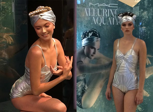 Cast Images Models - MAC Cosmetics - Alluring Aquatics