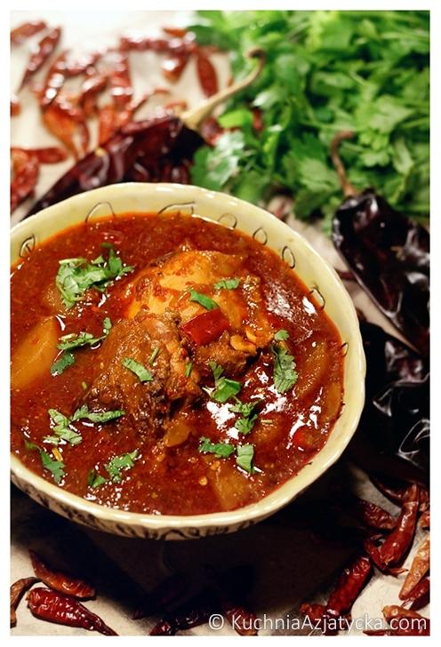 Diableskie curry ©KuchniaAzjatycka.com