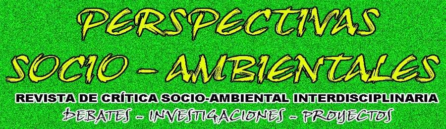 REVISTA DE CRITICA Y PROYECTOS SOCIO-AMBIENTALES