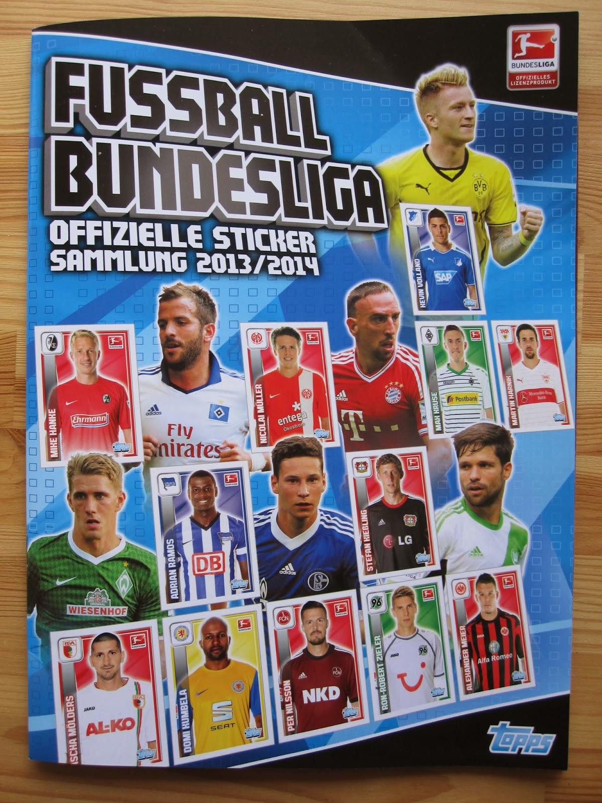 Only good stickers topps bundesliga 2014 for Bundesliga 2010