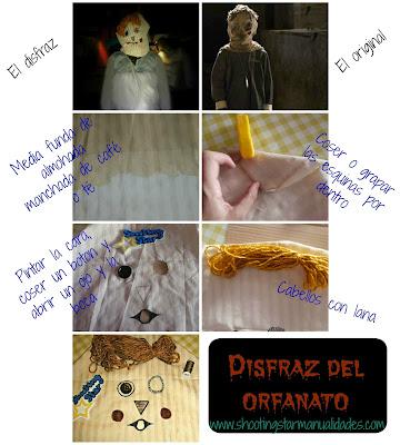 disfraz DIY el orfanato