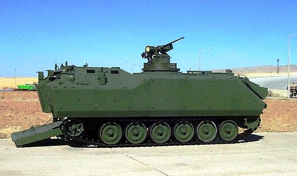 Kendaraan tempur ACV-S buatan FNSS Turki