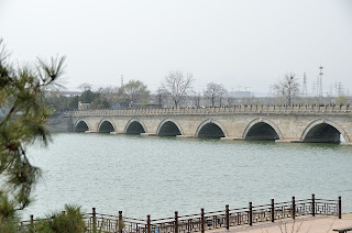 Lugou Qiao or Marco Polo Bridge